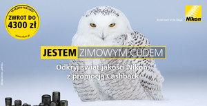 Jestem zimowym cudem - nowy cashback Nikona