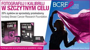 Limitowana, różowa wersja kalibratora ColorMunki Display i wzorca ColorChecker Passport Photo wspiera badania nad rakiem