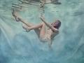 Fotografka wykonuje podwodne portrety by przezwyciężyć swoje słabości