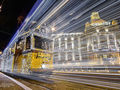 Światła świąt w Budapeszcie na zdjęciach kierowcy autobusu miejskiego