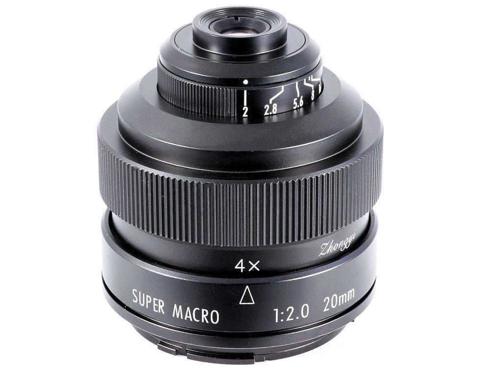 Zhongyi Mitakon 20mm f/2 4.5x Super Macro lens - Amateur