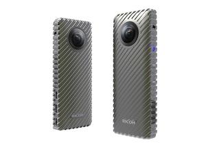 Kamera Ricoh 360 stopni - w pełni sferyczny video streaming trwający nawet do 24 godzin