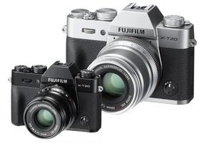 Fujifilm X-T20 z matrycą 24 mln pikseli i rejestracją filmów 4K