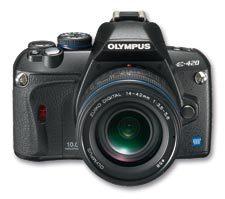 Olympus E-420 – małe jest piękne