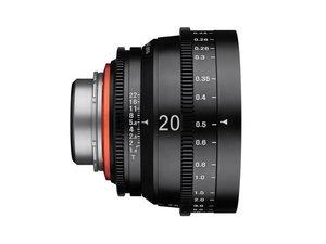 Obiektyw filmowy Samyang XEEN 20mm T1.9