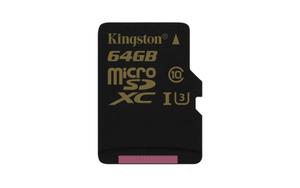Nowa karta Kingston microSD U3 z serii Gold
