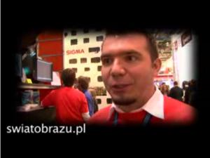 Swiatobrazu.pl na FVF2008, wywiad z dystrybutorem monitorów Eizo
