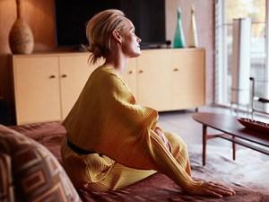 Jaśniejąca blaskiem Amber Valletta na zdjęciach Stasa Komarovskiego