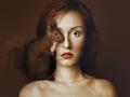 Oko w oko ze zwierzętami - najnowsze autoportrety Flory Borsi