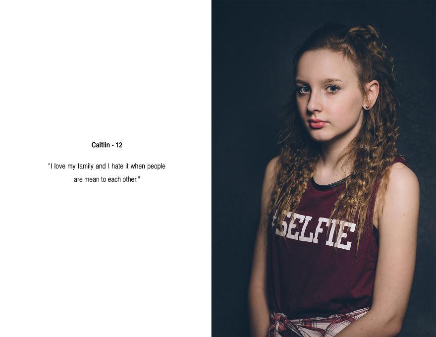 92725cba4b6bf4 Carolyn Mendelsohn sfotografowała dziewczynki w wieku 10-12 lat i ...