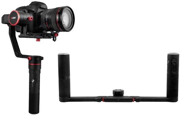 FeiyuTech a2000 gimbal stabilizator ręczny lustrzanki bezlusterkowce filmowanie aparatem dynamiczne ujęcia z ręki