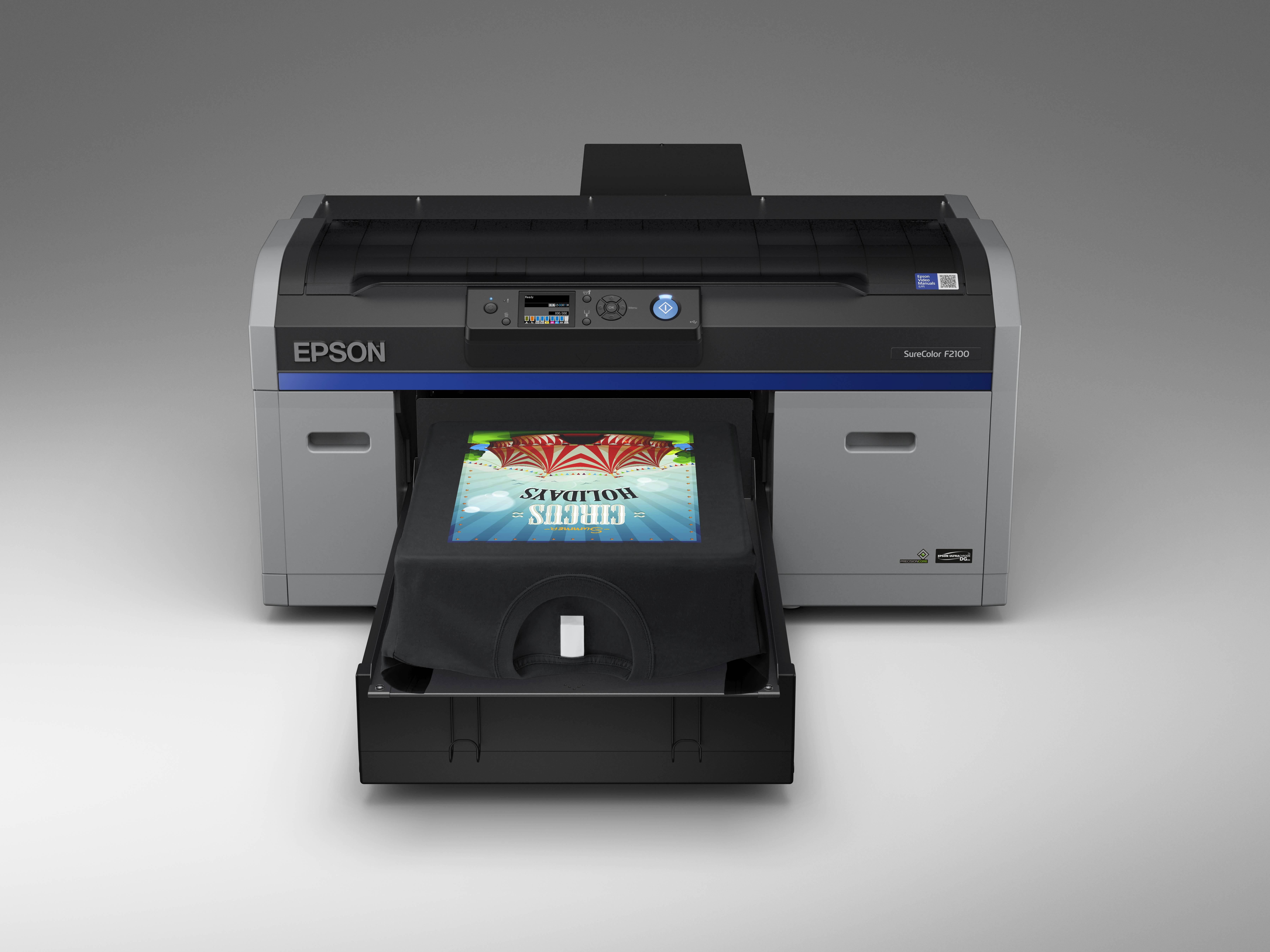 Ogromny Epson SureColor SC-F2100 - nowa drukarka do koszulek - Swiatobrazu.pl TB51