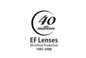 40 milionów obiektywów Canona