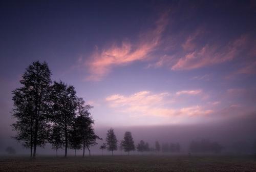 Wschód Słońca Techniki Fotografowania Niebieska Godzina
