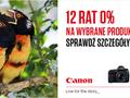 Zaawansowane lustrzanki i kamery cyfrowe Canon w kredycie lub leasingu 0%