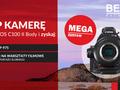 Kamera Canon C100 Mark II z akumulatorem i voucherem na warsztaty filmowe