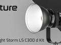 Light Storm LS C300 d -  najmocniejsza lampa światła ciągłego Aputure