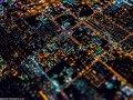 Miasto Grzechu w miniaturze - niezwykłe nocne fotografie z powietrza Vincenta Laforeta