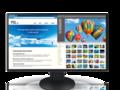 EIZO FlexScan DV2785 - monitor 27 cali z cienkimi ramkami, o rozdzielczości 4K podłączany do komputera jednym kablem USB-C