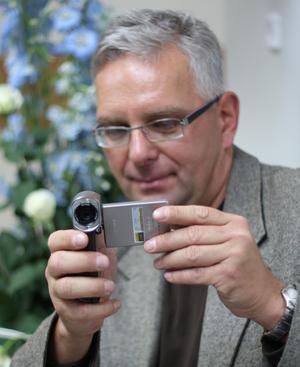 Sony HDR-TG3E: pierwsi rozmawiamy z ekspertem Sony