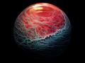 Szklanki po whiskey, które wyglądają jak planety sfotografowane przez sondę kosmiczną