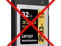 Lexar rezygnuje z kart XQD
