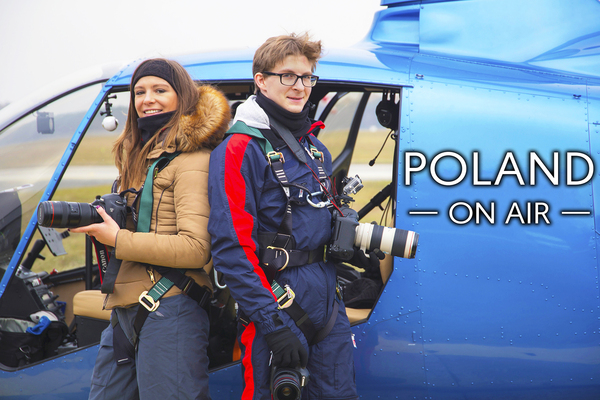 POLAND ON AIR fotografie lotnicze