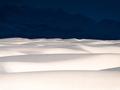 Krajobraz z innej planety na zdjęciach przedstawiający White Sands w Nowym Meksyku