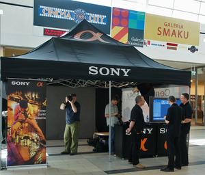 Sony Alfa w centrach handlowych nie tylko na półkach