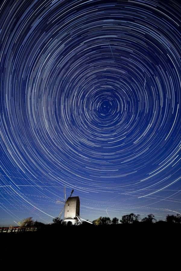 Jak fotografować deszcz meteorów Canon