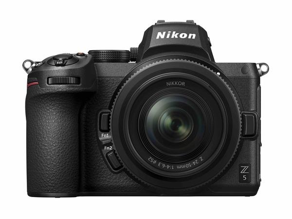 NIKON Z5 pełnoklatkowy aparat bezlusterkowy dla początkujących