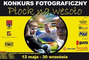 Płock na wesoło - konkurs fotograficzny