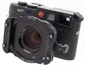 Konkurencja dla Cokina - LEE Filters RF75 Rangefinder Holder System