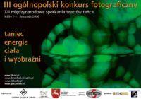 III edycja konkursu Taniec - energia ciała i wyobraźni