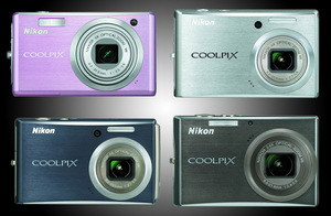 Pięciu wspaniałych i kolorowych. Nowe aparaty Nikon Coolpix S560, S610 i S610c oraz S710.