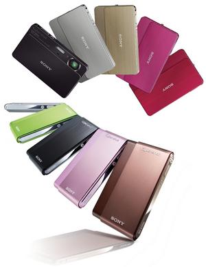 Sony Cyber-shot T77 i T700: kolorowy zawrót głowy!