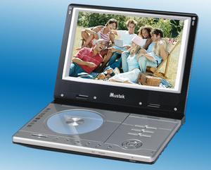 Kino domowe w podróży. Nowy odtwarzacz DVD TV Mustek MP102ATV