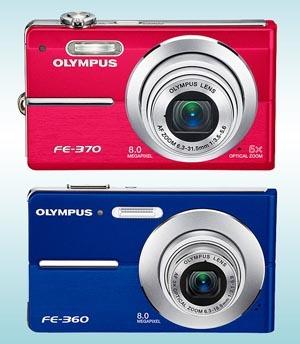 Nowe kompakty Olympusa FE-360 i FE-370