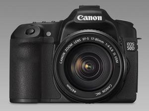 Detekcja twarzy i 15 megapikseli. Oto nowy Canon EOS 50D