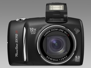 Odnowiony megazoom Canona. Nowy PowerShot SX110 IS