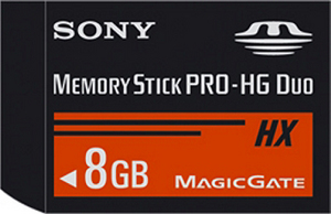 Sony przyspiesza. Nowe karty Memory Stick PRO-HG Duo HX 4GB i 8 GB