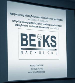 BEiKS Roadshow 2008 - przystanek końcowy: Warszawa