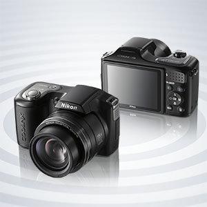 Nikon Coolpix L100 - nowy, prosty i lekki kompakt z 15 krotnym zoomem