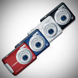 PowerShot A480, PowerShot A1100 IS i PowerShot A2100 IS