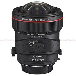 Canon TS-E 17mm f/4L i TS-E 24mm f/3.5L II - nowe obiektywy tilt&shift