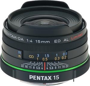 Limitowany Pentax smc DA 15mm F4 ED AL