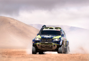 Sony DSLR A900 at Dakar Rally
