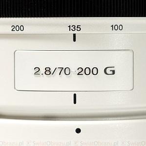 TEST: Sony 70-200 mm f/2.8 G