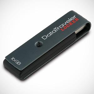 Przenośna pamięć USB z szyfrowaniem - Kingston Technology