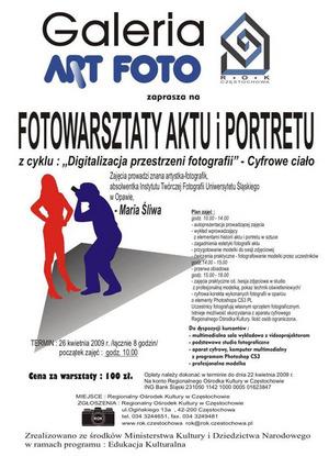 Akt i portret - warsztaty fotograficzne